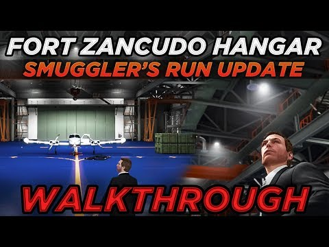 Buying the Fort Zancudo Hangar A2 $3 25M & First Setup (GTA Online Smuggler's Run Update)