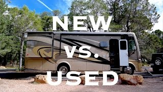 Buying an RV: New vs Used