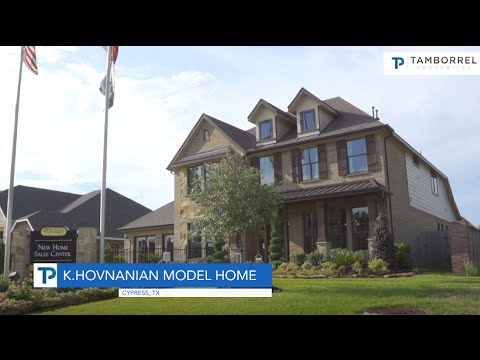 K. Hovnanian Homes In Cypress, TX   YouTube