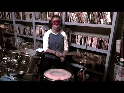 All that matters Colton Dixon Blindfolded Drum Cover