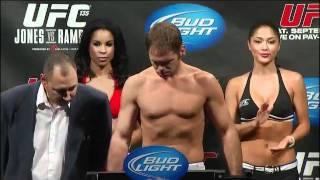 UFC 135 Weigh In