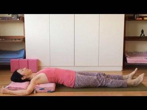 猫背・四十肩の予防、姿勢の改善に胸を開く:セルフケア 5