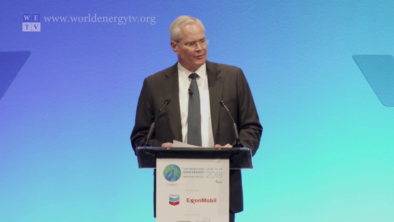 Darren Woods, Chairman & CEO ExxonMobil | Fuelling the Future