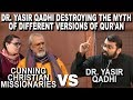 Dr. Yasir Qadhi Destroys The Myth Of Different Versions Of Quran