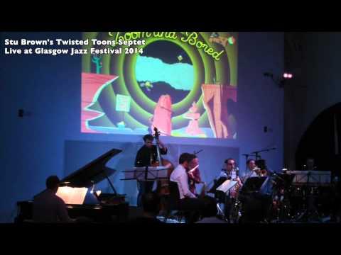 Stu Brown's Twisted Toons Septet live at Glasgow Jazz Fest 2014