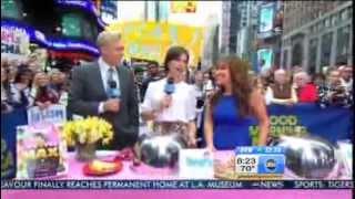 Hg On Tv: Good Morning America (october 2012)!
