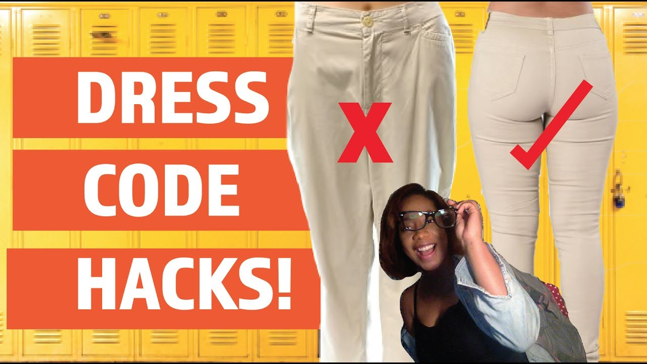 2298ad14f3ee2 DRESS CODE HACKS FOR BACK TO SCHOOL!! HOW TO BREAK THE DRESS CODE ...