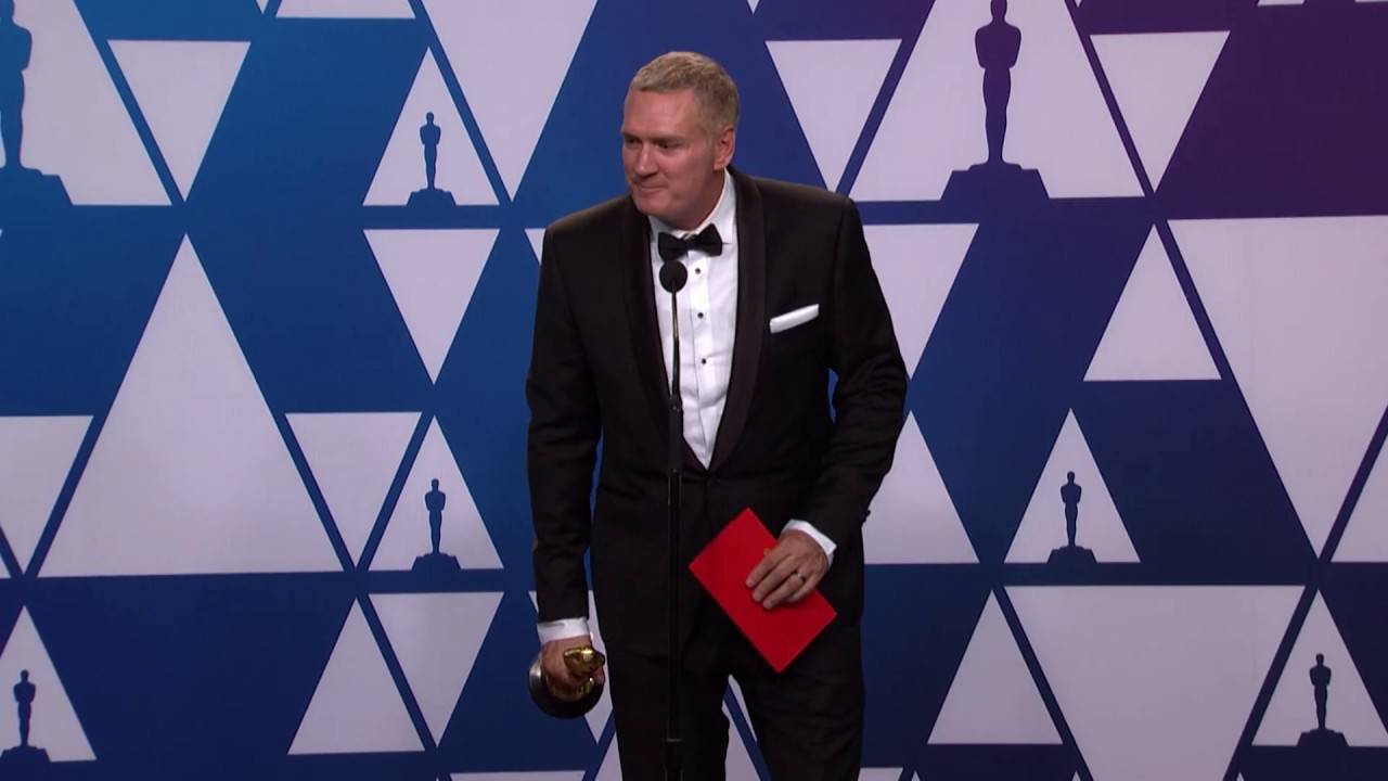 John Ottman wins Oscar for Film Editing - Bohemian Rhapsody