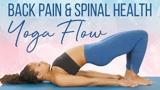 Yoga for a Flexible & Healthy Spine, Balance the Body & Reduce Back Pain | 25 Minute Yoga