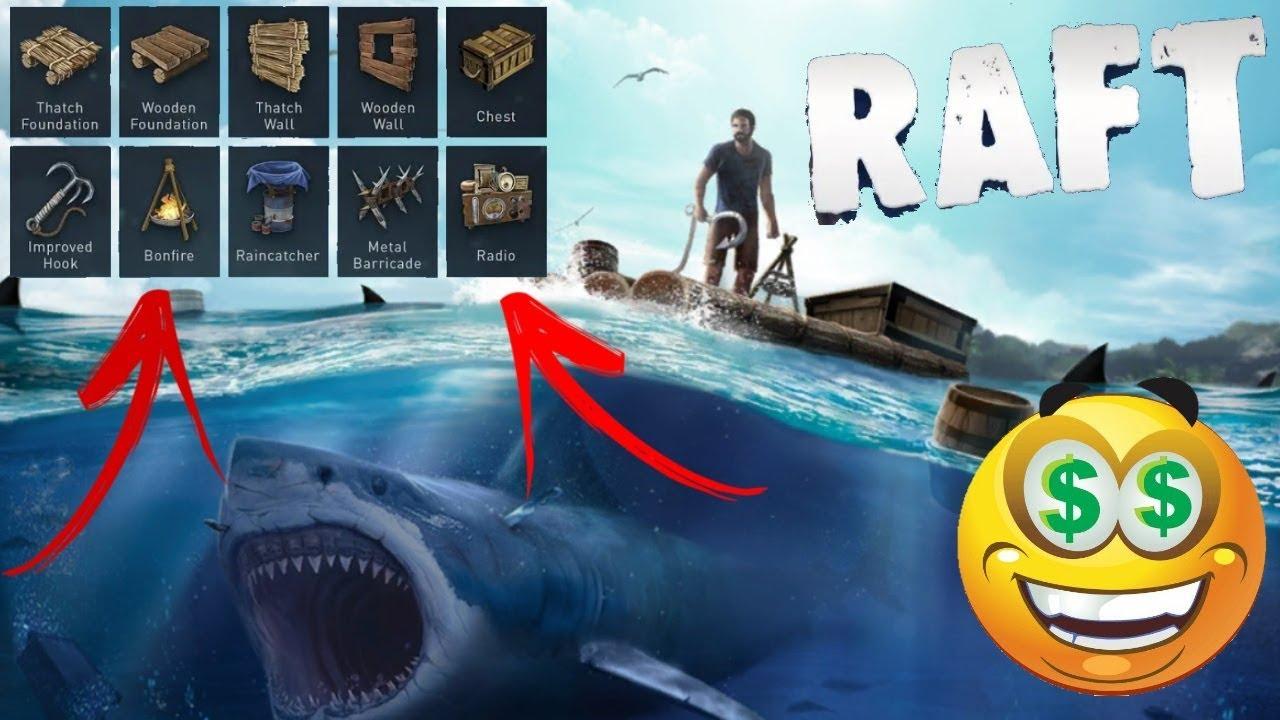скачать raft original survival game взлом на крафт