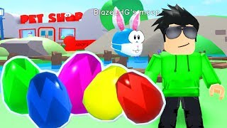 ROBLOX MEEP CITY EASTER EGG HUNT!