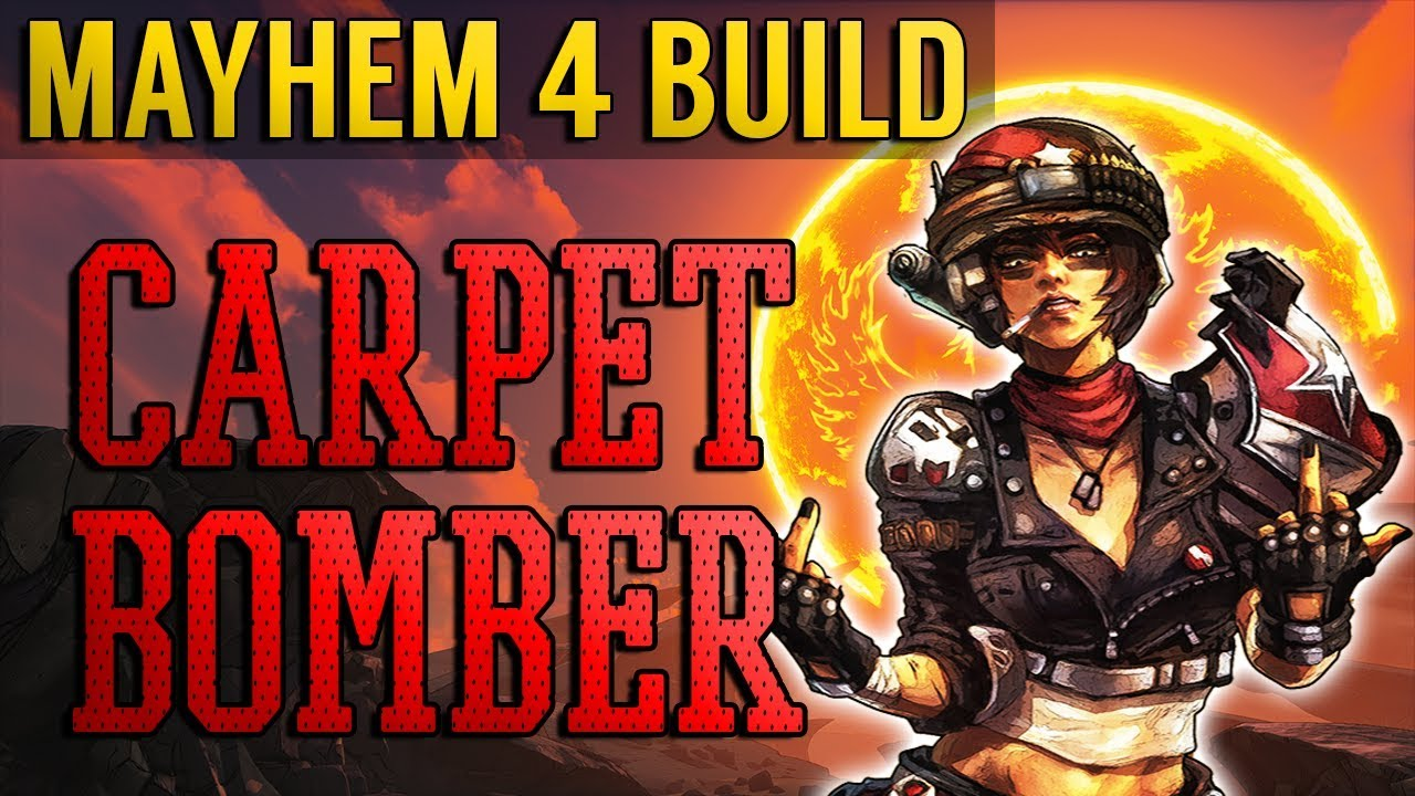 Borderlands 3 MOST INSANE MOZE BUILD! INFINITE Ammo! Highest DAMAGE! Solo Raid Build! Mayhem 4! thumbnail
