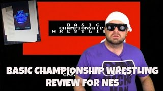 Basic Championship Wrestling Review for NES - NES Wrestling Homebrew! | RGT 85