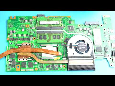 Asus Vivobook 17 Pro N705UD | How to Service Upgrade & Laptop Teardown