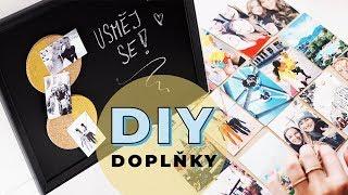 DIY | Originální doplňky do domácnosti!