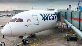 WestJet 787-9 Dreamliner INAUGURAL FLIGHT - Toronto to Calgary