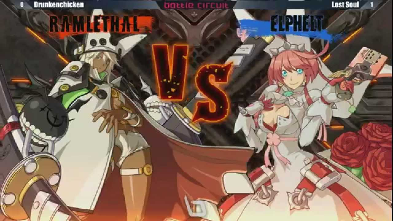 Next Level Battle Circuit 145 - GGXRD - Winners Final - Drunkenchicken (RAM) vs Lost Soul (ELPH)