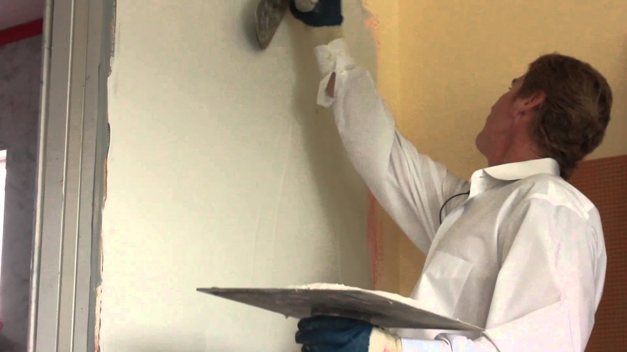 Teaching Instructions Veneer Plasters Over Sheetrock Keens Or Diamond    YouTube