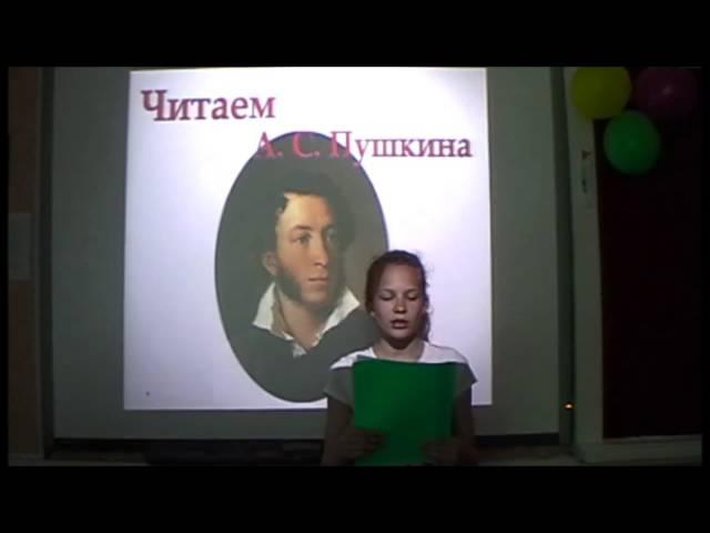 Изображение предпросмотра прочтения – ВалерияСоболева читает произведение «К *** (Я помню чудное мгновенье)» А.С.Пушкина