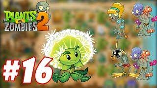 Plants Vs Zombies 2 : Magnifying Grass, Melon-pult, Dandelion vs Bikini Zombie, Octo Zombie #16