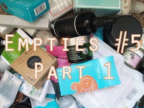 Green, Clean Empties #5 - Part 1 // Vitamins, Dental, Hair, and Makeup
