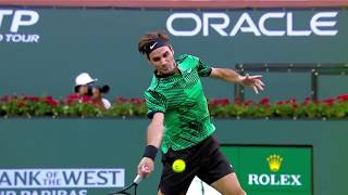 Roger Federer DAMN! Tennis Near Of The God