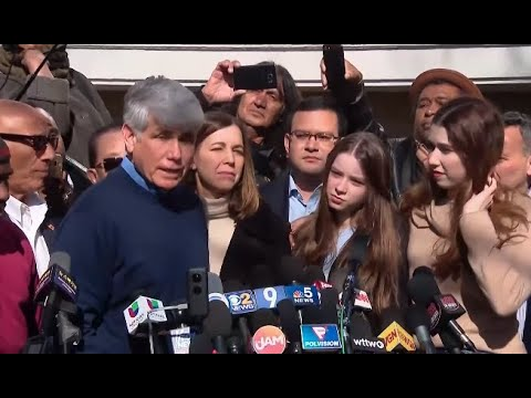 WATCH LIVE SOON: Former Illinois Gov. Blagojevich holds news conference following Trump's pardon