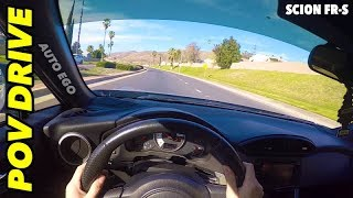 2015 Scion FR-S POV drive with TRD Exhaust & SIX speed AUTO transmission Highway/Street DRIFTS!?