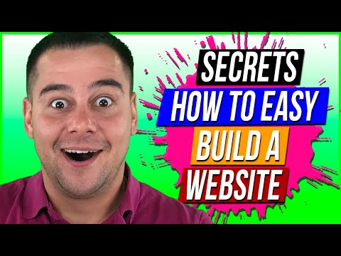 Secrets How to Build Your Own Website For Beginners🔥