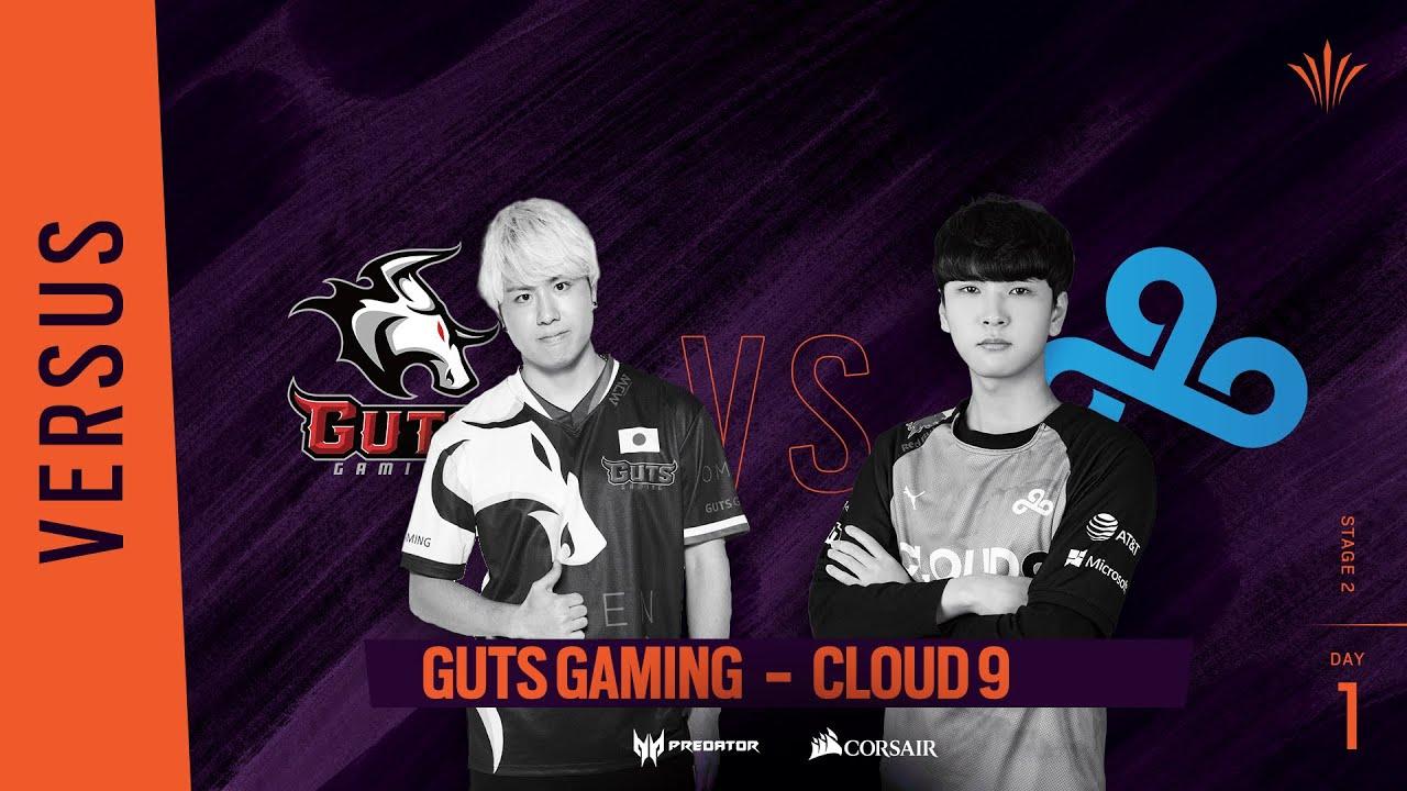 GUTS Gaming vs Cloud9 // Rainbow Six APAC North Division 2020 - Stage 2 - Playday #1
