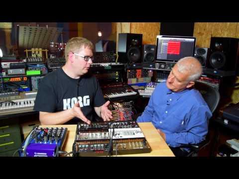 volca kick & FM with Luke Edwards and Steve Levine
