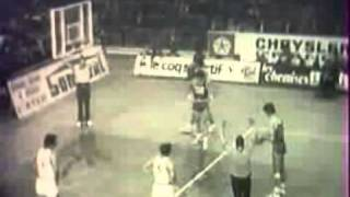 1/2 finale de la Coupe des Champions, AS Berck 95-81 Real de Madrid, 1973-1974 extrait 1