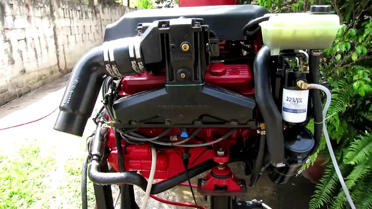 Bench Test Volvo Penta 5 0 Osi Bf Marine Engine Youtube