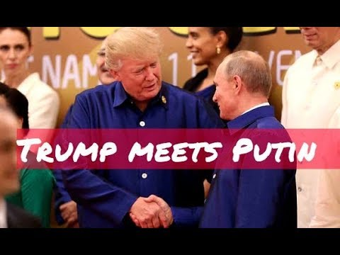 BREAKING: Putin and Trump Shake Hands And Exchange Words at APEC Summit