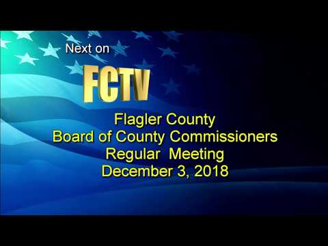 County Commission Regular Meeting 12/03/2018