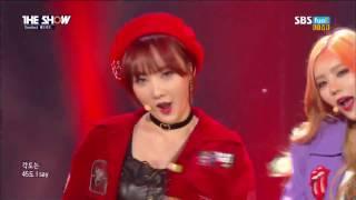 BADKIZ Comeback Stage The Show (11/22/2016)