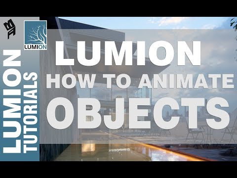 Lumion How to animate objects I Tagalog