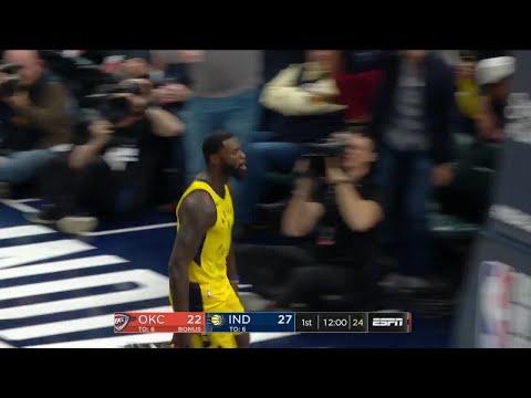 1st Quarter, One Box Video: Indiana Pacers vs. Oklahoma City Thunder