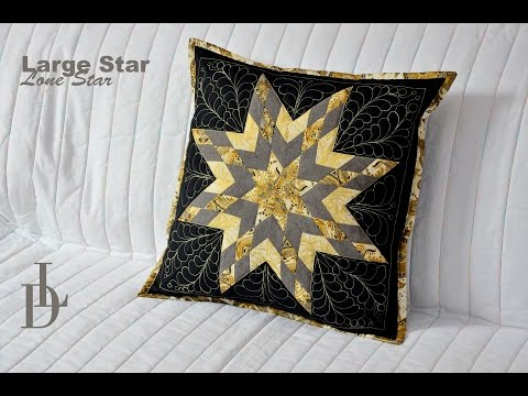 Patchwork Lone Star - Large Star