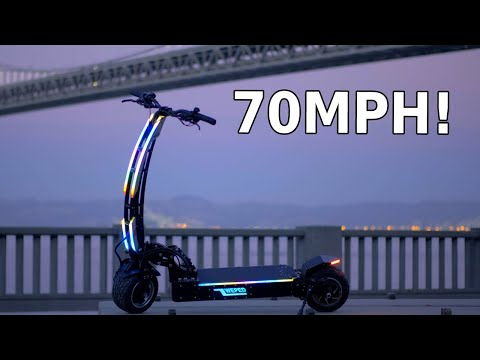 WEPED SS Electric Scooter, An Insanely Fast And High Quality Ride