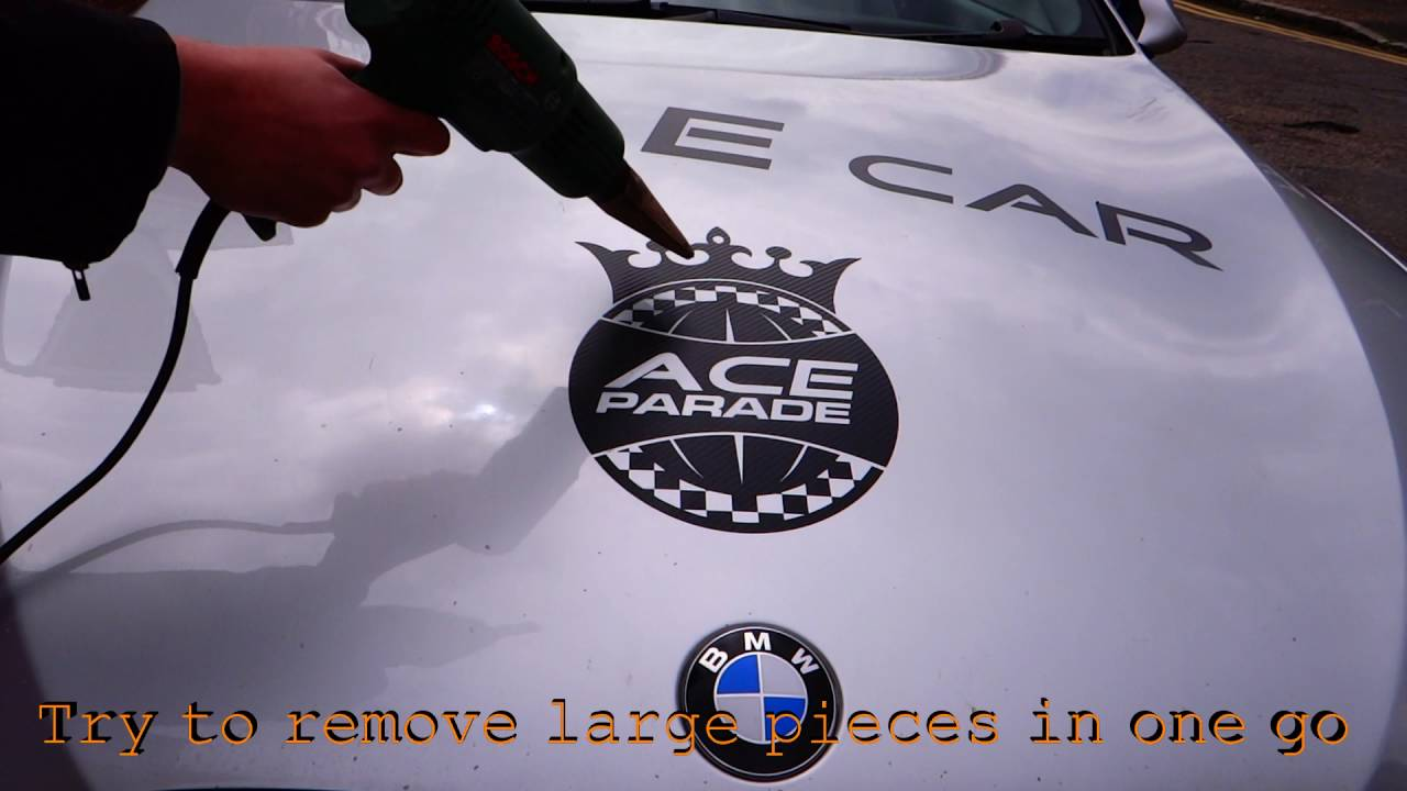 Easy Steps To Perfectly Remove Car Truck Van Vinyl Graphics - Custom vinyl decals for cars   removal options