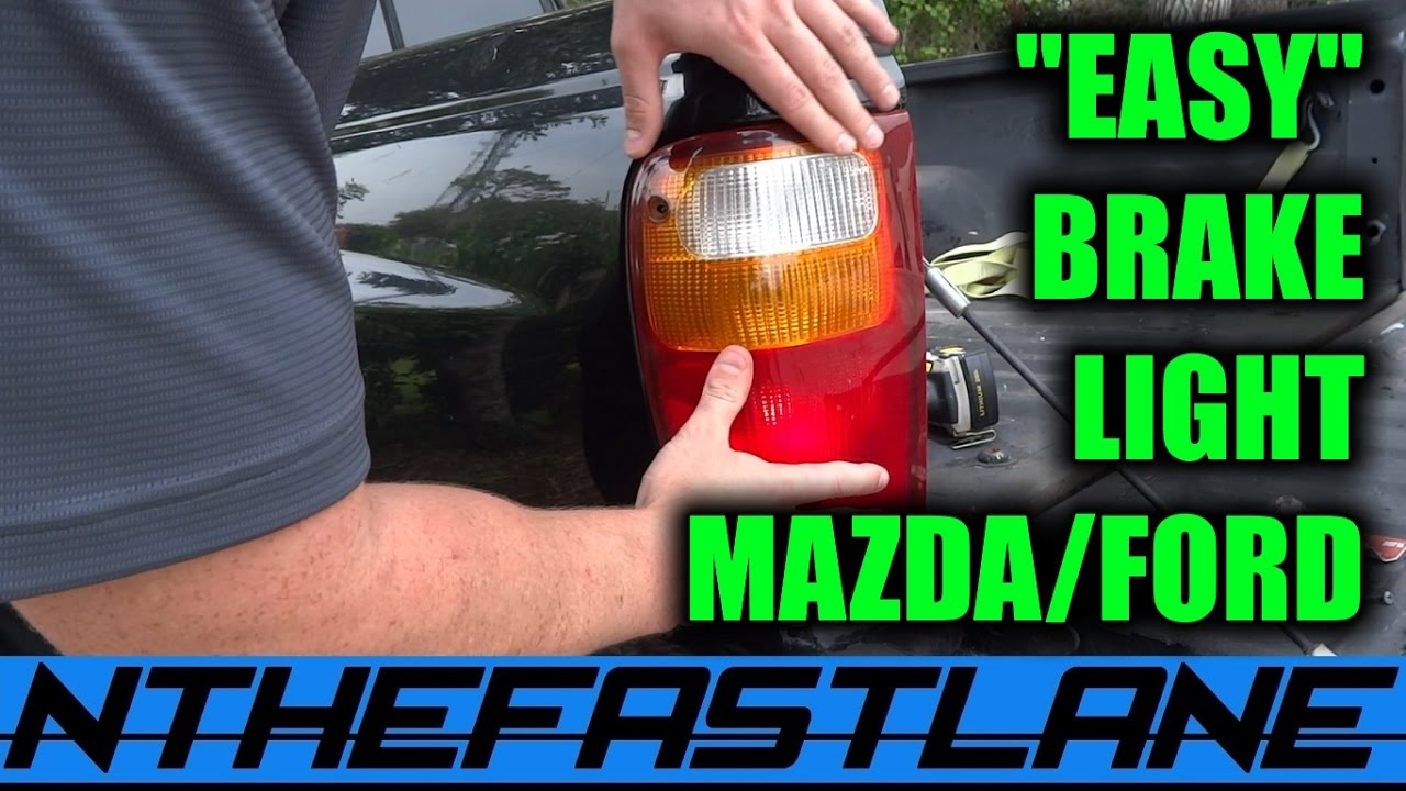 Brake light how to replace a bulb mazda bseries ford rangers