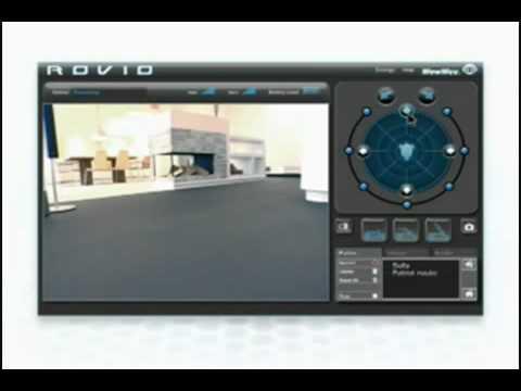 WowWee Rovio Wi-Fi Enabled Robotic WebCam