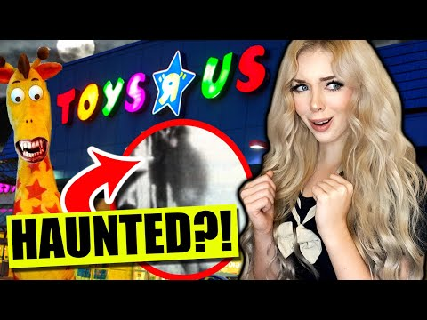 Do NOT Go To This HAUNTED TOYS R US Overnight.. (*REAL GHOST!*) Scary!