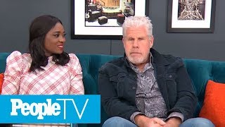 Learning To Use A Motorcycle For 'Sons Of Anarchy' Star Ron Perlman Wasn't A Smooth Ride
