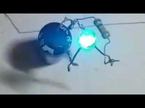 CARA MEMBUAT LAMPU ABADi (free Energi)