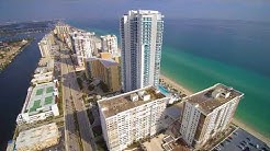 Hallandale Beach, Florida (Drone) Video 4k