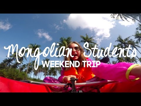 [Study English in the Philippines Weekend Trip] Mongolian Students travel to Hundred Islands