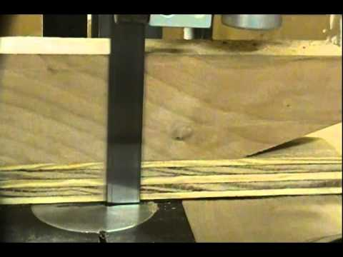 resaw paper-thin with rockwell model 14 bandsaw 28-200