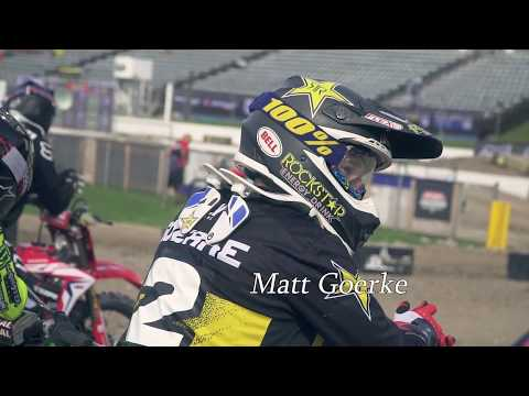Team Rockstar Yamaha Highlights from the 2018 Delaware Supercross
